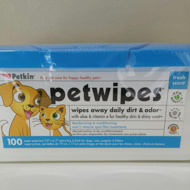 Petwipes / Earwipes