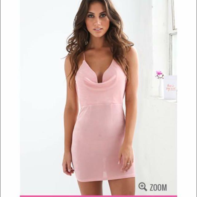 Pink Tigermist Dress