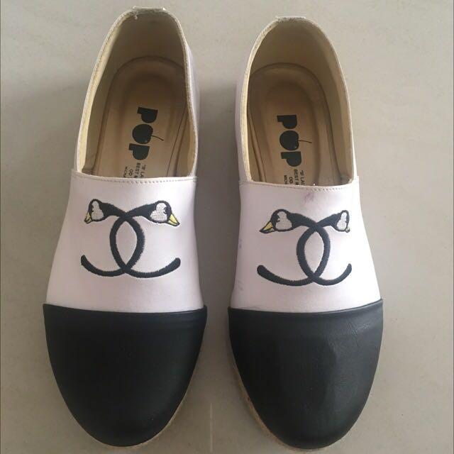 POP FLATS Coco Goose Shoes