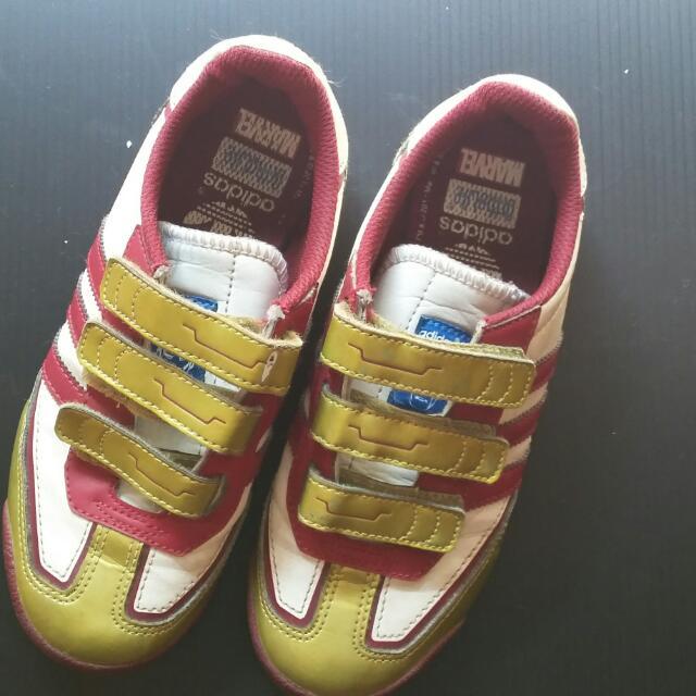Preloved Adidas Dragon For Kids Iron Man Edition