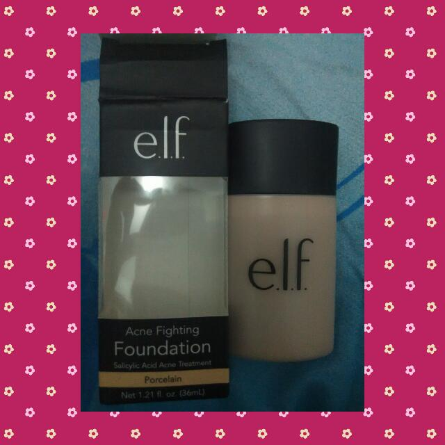Preloved Elf Acne Fighting Foundation