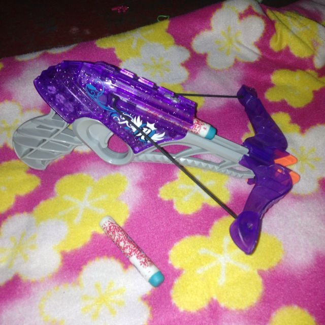 Rabelle Bow Nerf With Two Bullets For Girls