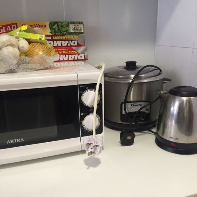 Rice Cooker/ Kettle/ Microwave