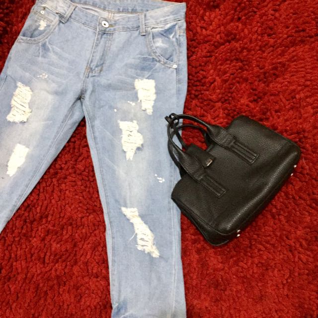 Ripped Jeans (Size: 29)