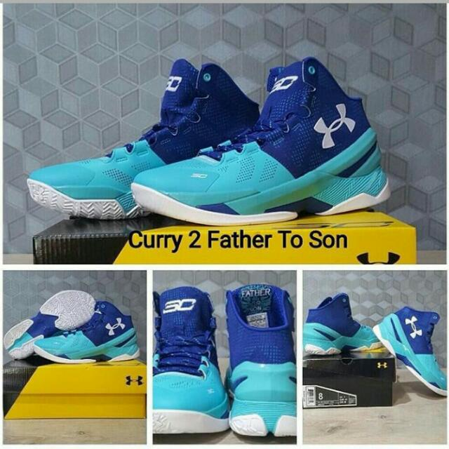 Sepatu Basket Under Armour Curry 2 FTS Unisex d33b64c737