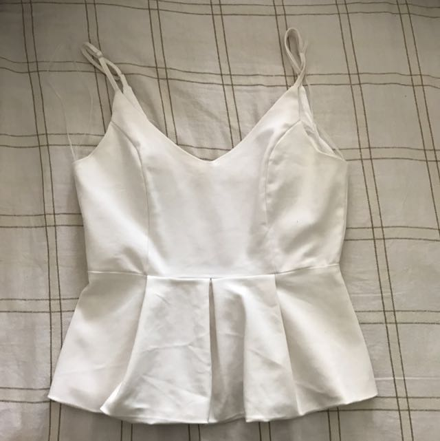 Size 10 White Top