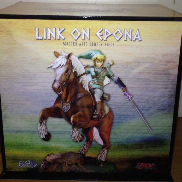The Legend of Zelda Link On Epona