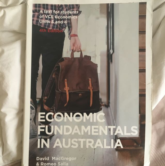Vce 3/4 Ecnomics Fundamentals In AustraliaTextbook, 4th Edition