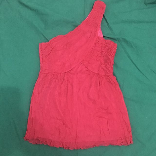 Venus Cut Fuchsia Pink Top