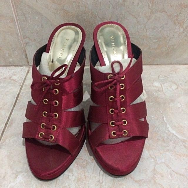 Vincci Pink Fuchsia Heels