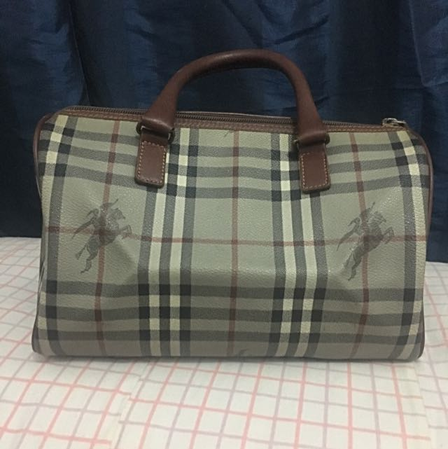 Vintage Burberry Mini Doctors Bag