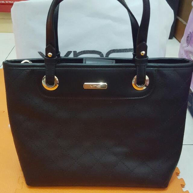VNC Black Hand Bag