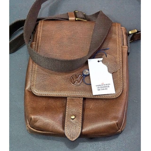 ab51cce41a44 Volkswagen Leather Sling Bag