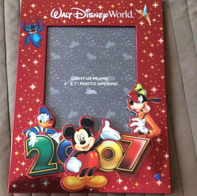 Walt Disney World Light Up Frame Photography On Carousell