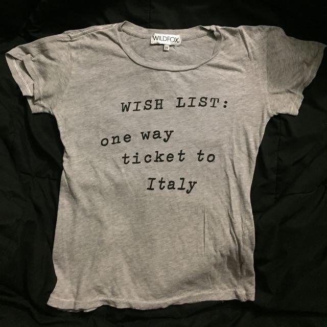 Wildfox Tshirt