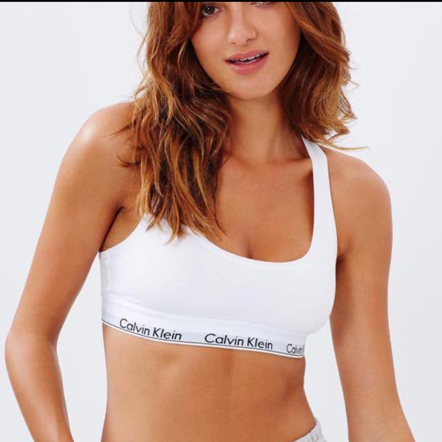 WORN Calvin Klein Modern Cotton Bralette