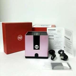 🆕🔞 Rose Pink Bluetooth Speaker FM / FT Card USB Voice HiFi high quality 360 degree surround sound 迷你藍牙喇叭 FM/FT卡 USB 語音功能 HiFi 高音質 360度環繞立體聲
