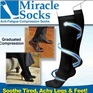 AS SEEN ON TV Miracle Socks Anti-fatigue Compression Sock
