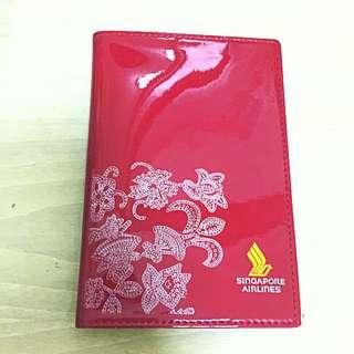 Singapore Airlines Passport Holder