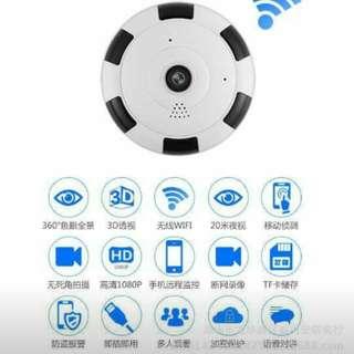 🆕🔞監視器針孔記錄器360度全景防盜顯示手機WiFi遠程監控針孔記錄器語音多功能轉換圖像質量速度顯示最高。