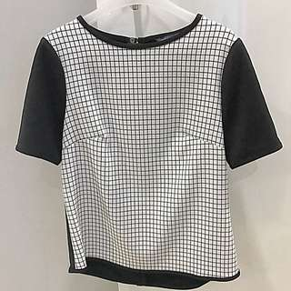Mark&Spencer Black N White Top