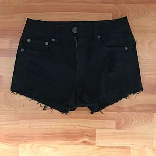 American Eagle High Waisted Festival Shorts