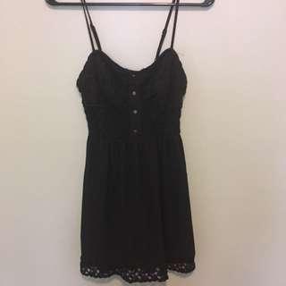 Cute Black Summer Dress
