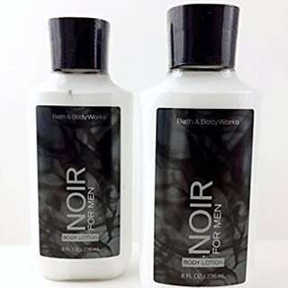Authentic Bath And Body Works Pre Order Noir For Men
