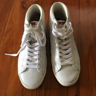 White Sneakers -Worn Only Once
