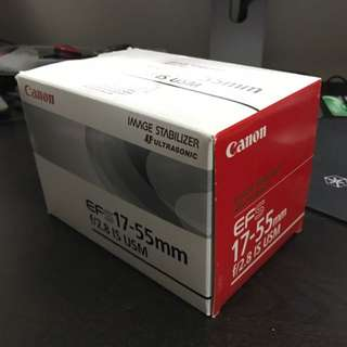 Canon EF 17-55mm F2.8 IS
