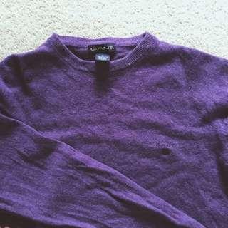 100% Lambswool Gant Sweater