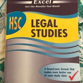 HSC LEGAL STUDIES TEXTBOOK
