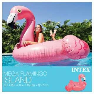 Intex Mega Flamingo Island Floater