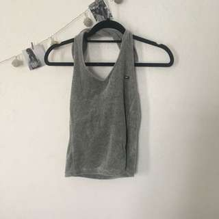 Tommy Girl Backless Crop Top