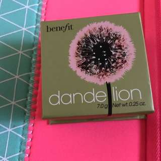 Benefit Dandelion Blush Brand New
