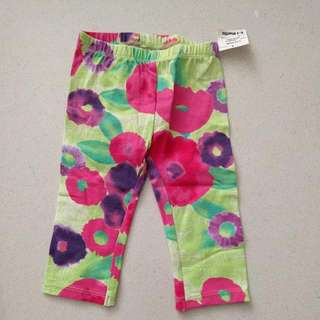 Baby Girl's Pants - 6 To 9 Months