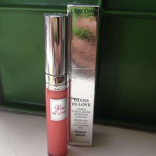 Lancome Gloss In Love Peach Snow