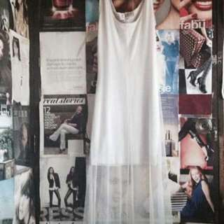 !!!Reprice!!! White Long Dress