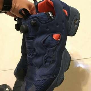 Reebok Pump 藍橘手榴彈