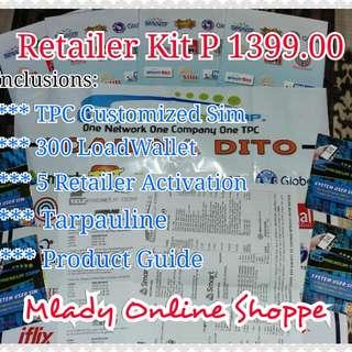 TPC ELOADING PACKAGE P 1399.00