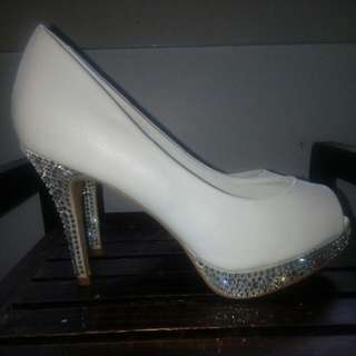 """Forever New"" Diamente Encrusted Heels"