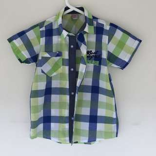 BOYS SIZE 4 SHIRT BRAND NEW