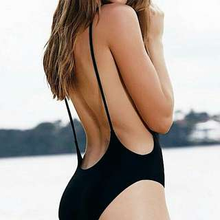 Low Back Swimsuit With Pads