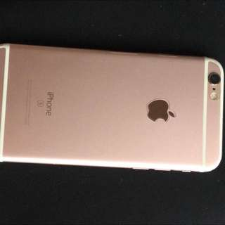iPhone 6s Rose gold 64 Gigs Bought From Apple Store
