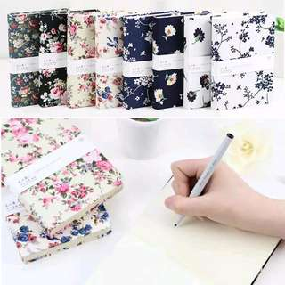 FREE POSTAGE Beautiful Assorted Floral Blank Notebooks
