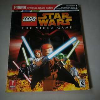Strategy Guide Lego Star Wars The Video Game