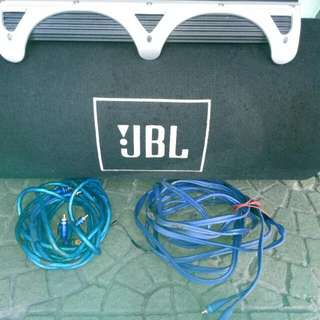Jbl Subwoofer And Amplifier