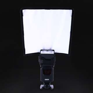 External Flash Reflector Diffuser External Flash Photography Collapsible Tube Beam Reflection Plate