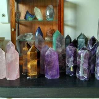 Crystal Tower Points Available