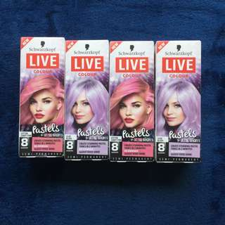 Schwarzkopf Temporary Pastel Hair Colour